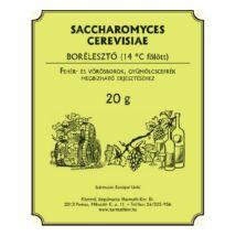 Borélesztő saccharomices cerevisiae, szőlő és gyümölcsmusthoz, cefréhez 20 g  10 db/gyűjtő