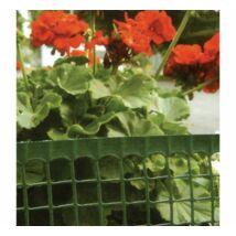 MINI műanyag kerítésfonat  - zöld 100 cm * 50 m