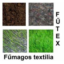 Fűtex  2,1x50 m 280 gramm fűmagos pamut textília 105 m2