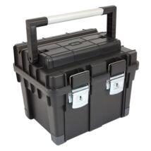 Patrol Toolbox HD szerszámosláda alumínium fogantyúval (45x35x35cm)