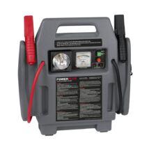 PowerPlus POWE80090 szürke gyorsindító/bikázó kompresszorral 12V-os