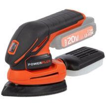 PowerPlus dual power POWDP5020 akkus deltacsiszoló akku nélkül 20V
