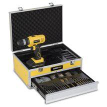 PowerPlus POWX0026LI akkus fúró-csavarozó szett kofferben 18V