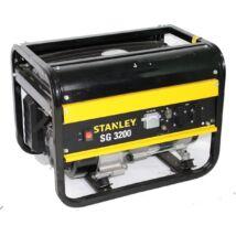 Stanley SG3200 benzines áramfejlesztő aggregátor 4,7kW (6,5LE)