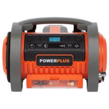 PowerPlus dual power POWDP7030 akkumulátoros kompresszor alapgép 20V/220V