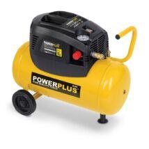 PowerPlus POWX1725 kompresszor  olajmentes 1,1kW /24L