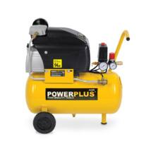 PowerPlus POWX1735 olajos kompresszor 1,5kW/ 24L