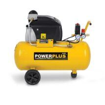 PowerPlus POWX1760 olajos kompresszor 1500W 50L