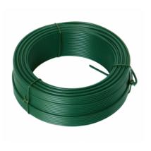 Feszítő drót 2.6mmx78M zöld PVC