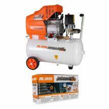Ruris AirPower 2400 PLUS légkompresszor kiegészítőkkel, 15kw, 24l