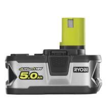 Ryobi  ONE+ Akku 18V 5,0 Ah LI-ON akkumulátor RB18L50
