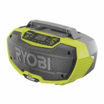 Ryobi R18RH-0 18 V akkumulátoros sztereó radió Bluetooth® -al