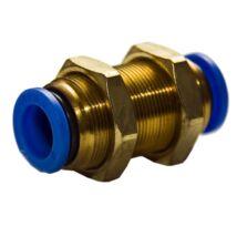 SHPI átvezető csatlakozó (dugaszolható), egyenes, 12 mm