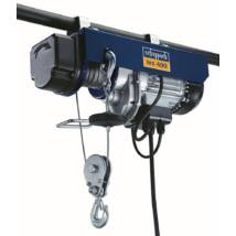 Scheppach HRS 400 csörlő-emelő, elektromos, drótköteles, 400kg, 780W, 230V