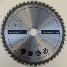 Scheppach körfűrészlap HM 110 MP gérvágóhoz, 48 fog, 255x30x2.8mm