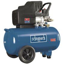 Scheppach HC 51 kompresszor, olajkenésű, 50L, 10bar, 1.8kW, 230V