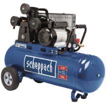 Scheppach HC 550 TC háromhengeres kompresszor, olajkenésű, 100L, 10bar, 2.2kW, 230V