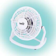 Asztali ventilátor, USB, fehér, 10cm, 2.5W