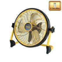 Padlóventilátor, akkumulátoros, 30cm, 20W