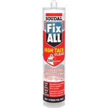 Soudal Fix All High Tack Cear hibrid polimer tömítő-ragasztó, 290ml