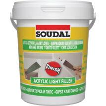 Soudal Soudafill Light akril tömítő, festhető, 0.9l