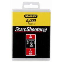 "Stanley 1-TRA204-5T Tűzőkapocs ""A"" 6mm"
