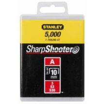 """Stanley 1-TRA206-5T Tűzőkapocs """"A"""" 10mm (3/53/530) 5000db"""