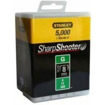 """Stanley 1-TRA705-5T Tűzőkapocs """"G"""" 8mm (4/11/140) 5000db"""