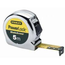 Stanley 0-33-514 PowerLock mérőszalag Bladearmor 5m×25mm