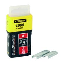 """Stanley 4mm-es """"A"""" kapocs 1000db"""