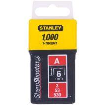 """Stanley 6mm-es """"A"""" kapocs 1000db"""