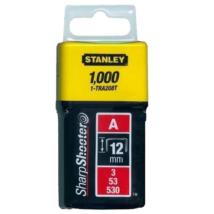 """Stanley 12mm-es """"A"""" kapocs 1000db"""
