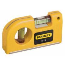 Stanley 0-42-130 Mágneses zseb vízmérték 85mm