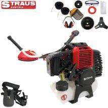 Straus GT-3800G benzines fűkasza, 52cm3, 5.2Le, 12 tartozékkal