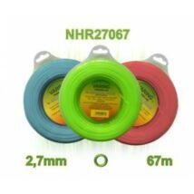Fűnyíró damil kör 2,7 mm Robotox 1 Lb