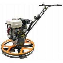 Verke V10137 benzines betonsimító 6,5 LE / 60 cm / 58 kg