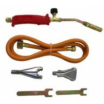 Verke V07450 forrasztó, gázforrasztó készlet, perzselő