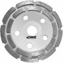 Verke V44201 betoncsiszoló gyémánttárcsa 125mm (Dupla)
