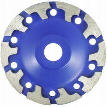 Verke V44206 betoncsiszoló gyémánttárcsa 125mm (T alakú)