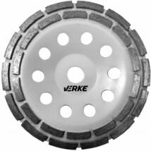 Verke V44220 betoncsiszoló gyémánttárcsa 180 mm (Dupla)