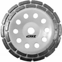 Verke V44220 betoncsiszoló gyémánttárcsa 180mm (Dupla)