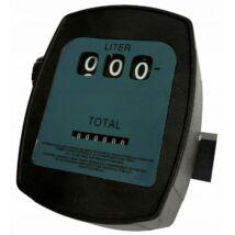 Verke V80210 üzemanyag-olaj-gázolaj átfolyásmérő óra