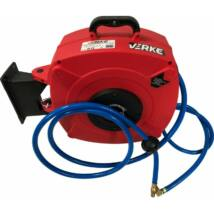 Verke V81375 levegő tömlő dobban 10x16mm / 16m /17bar