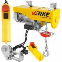 Verke V06050 elektromos csörlő 540W, 125-250 kg,  6-12m