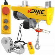 Verke V06053 elektromos csörlő 1600 W / 500/1000 kg / 6/12 m