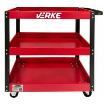 Verke V33120 nyitott szerszámos kocsi 3 polccal