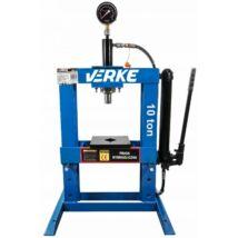 Verke V80144 hidraulikus műhelyprés 10 T