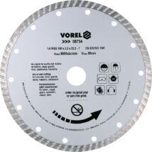 Vorel Gyémántvágó korong 180mm turbó 08754K