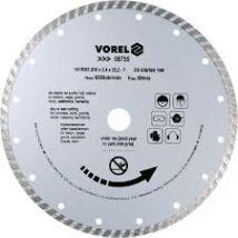 Vorel Gyémántvágó korong 230mm turbó 08755K