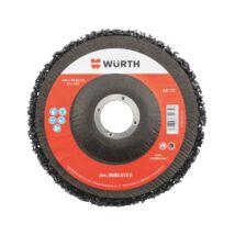 Würth nejlon szövet csiszolókorong szövettányérral, 115mm